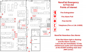 General Emergency Points of Interest