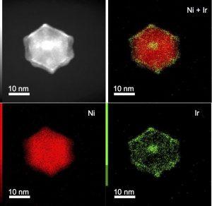 Ir-Ni nanopolyhedron (XueHai Tan, Semagina Group, Department of Chemical and Materials Engineering, University of Alberta)